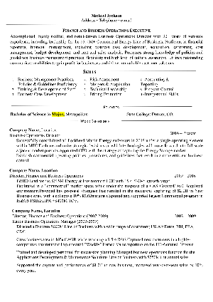 RY Resume example before
